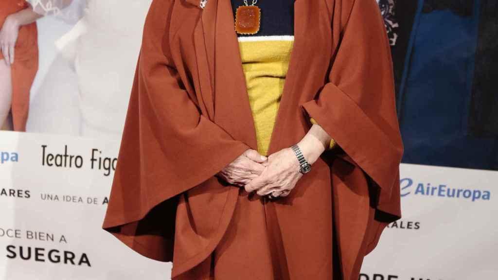 Paloma Gómez Borrero, en el último evento al que acudió.