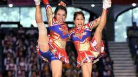 Cheerleading en Tailandia.