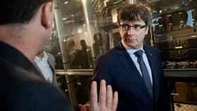 Puigdemont , este lunes durante su visita a EEUU.