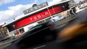 Establecimiento de Tesla en el Reino Unido.