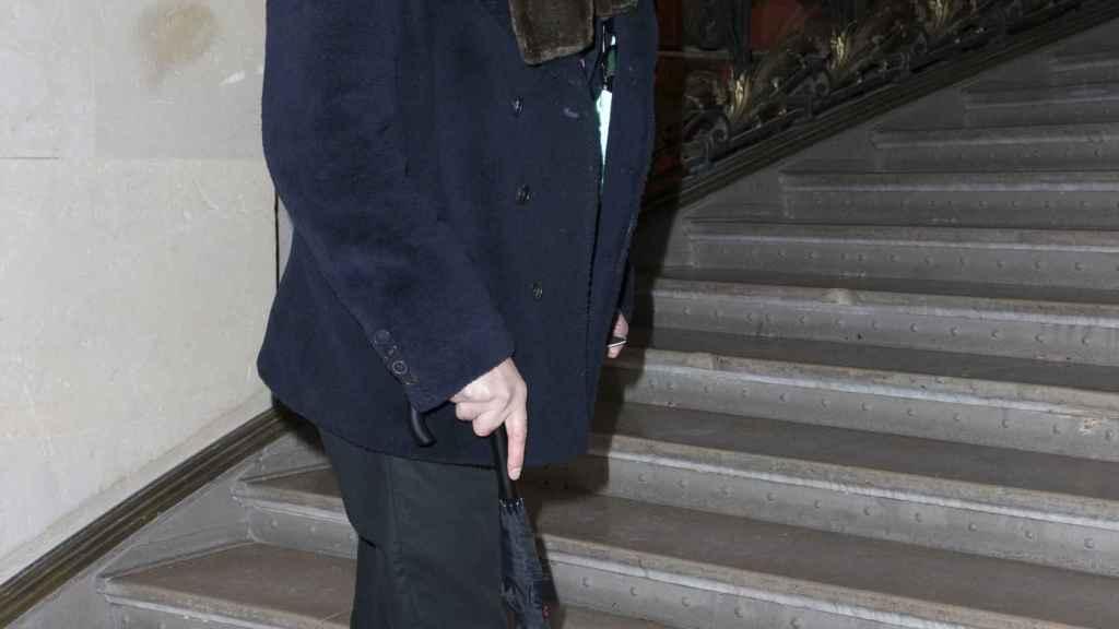Jaime de Marichalar, durante un desfile en París.