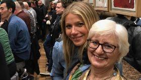 Gwyneth Paltrow en Barcelona con su madre española.