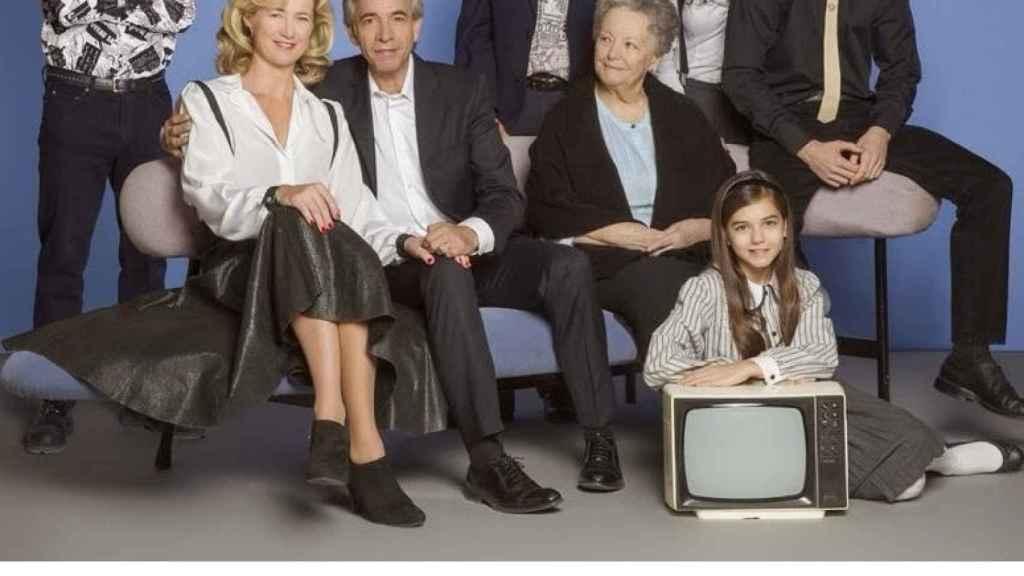 El elenco de actores de la serie Cuéntame.