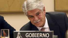Alfonso Dastis, en su comparecencia en el Congreso.