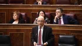 Cristobal Montoro en una sesión del Congreso.