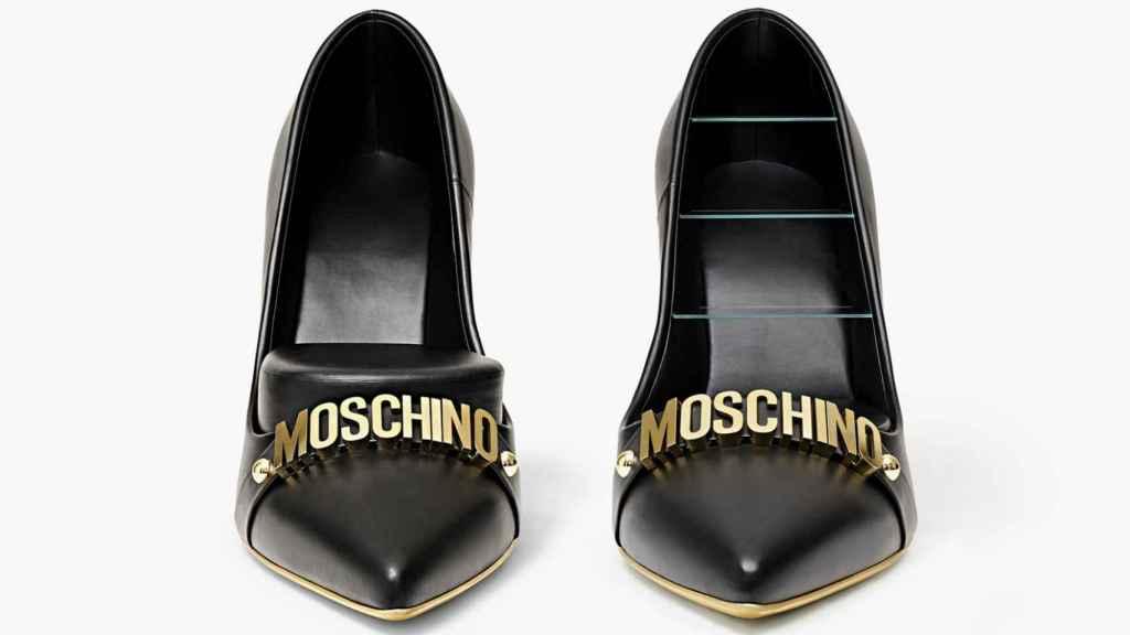 High Heels por Jeremy Scott y Gufram. | Foto: Moschino.