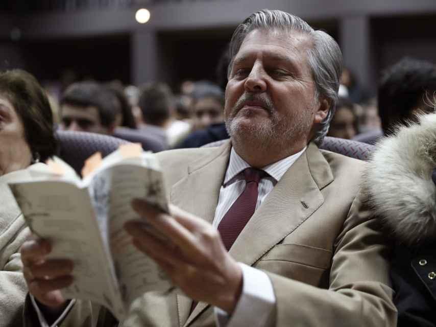 Íñigo Méndez de Vigo ha anunciado 70 millones para ayudar al cine.