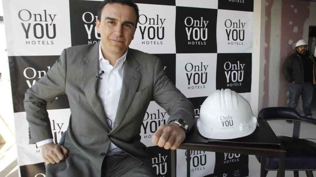 Abel Matutes Prats en un evento de Only You Hotels en Madrid
