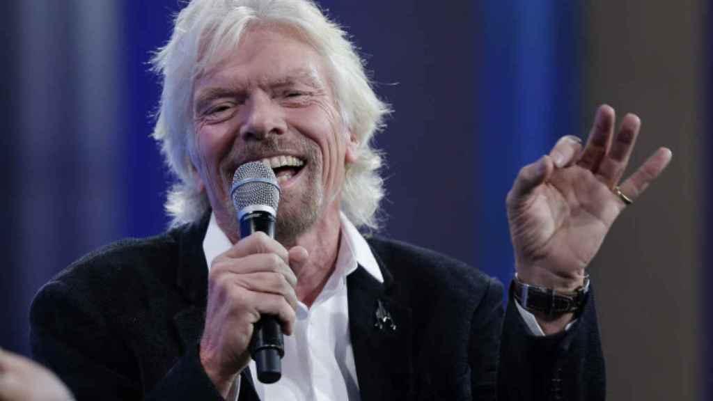 El empresario Richard Branson