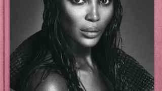 """La top model británica en una imagen del libro """"Naomi Campbell"""" por la editorial Taschen."""