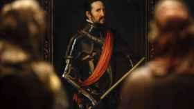 Una de las estancias de la exposición de la Hispanic Society en el Prado.
