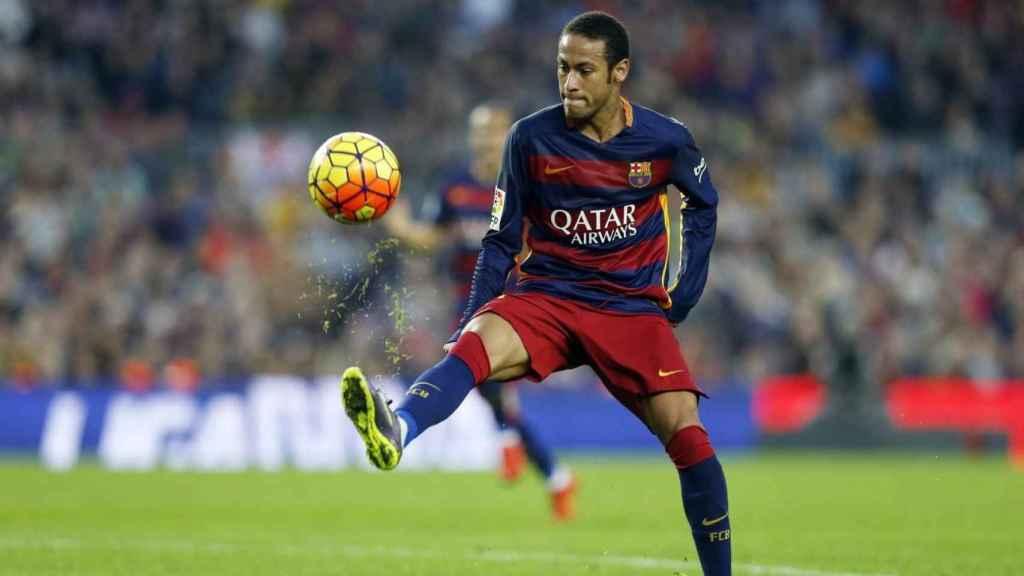 Neymar, en un partido del Barcelona. Foto: fcbarcelona.com