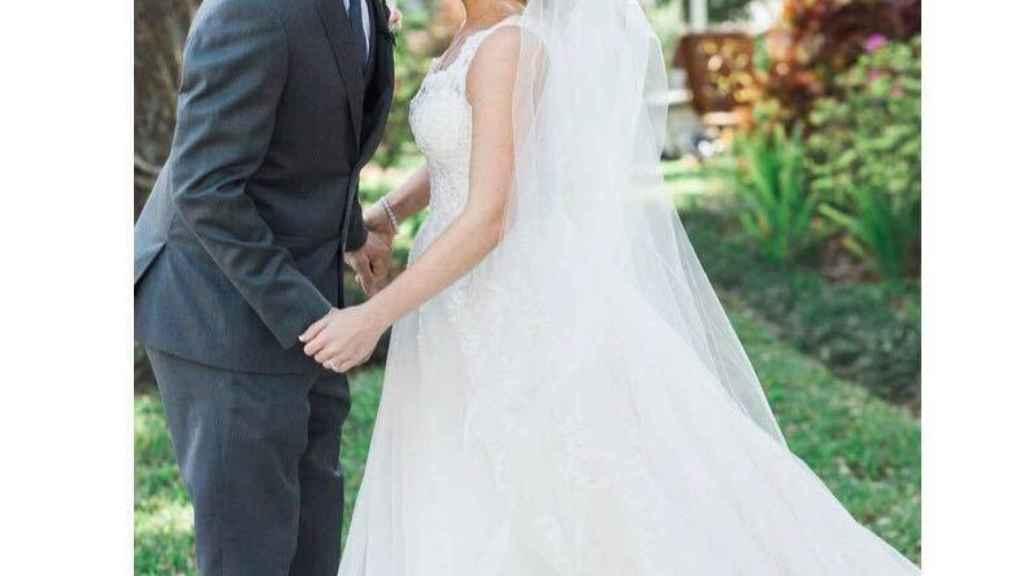 Una de las fotos de la boda