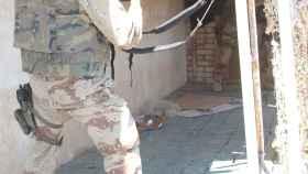 El brigada Romero en el asalto de Najaf.