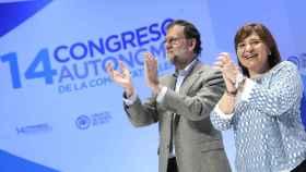 RAJOY e Isabel Bonig clausuran en XIV Congreso del PP de la Comunidad de Valencia.