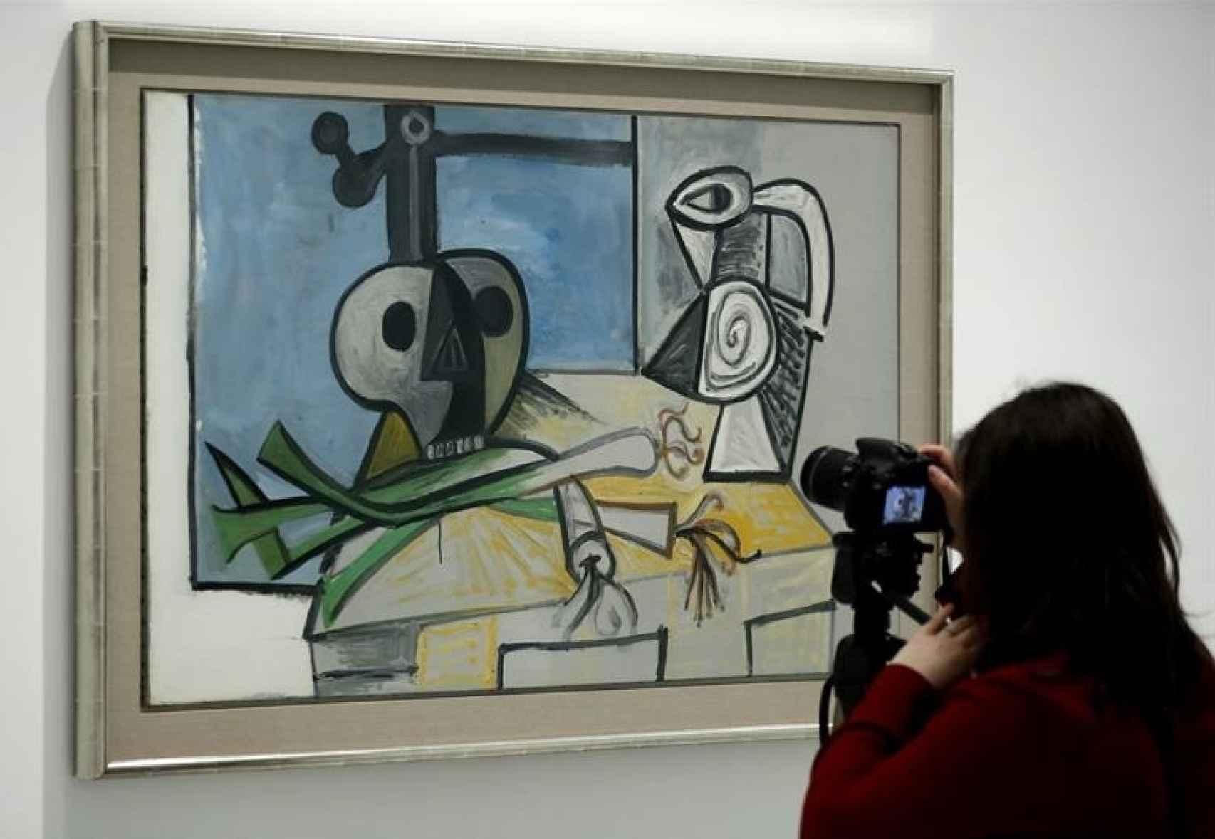 Una visita en la exposición del Museo Reina Sofía.
