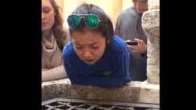 Así suena 'Hallelujah'  interpretada en un pozo por una joven de 17 años