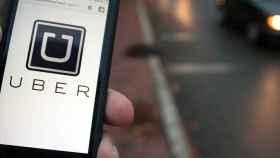 La aplicación Uber.