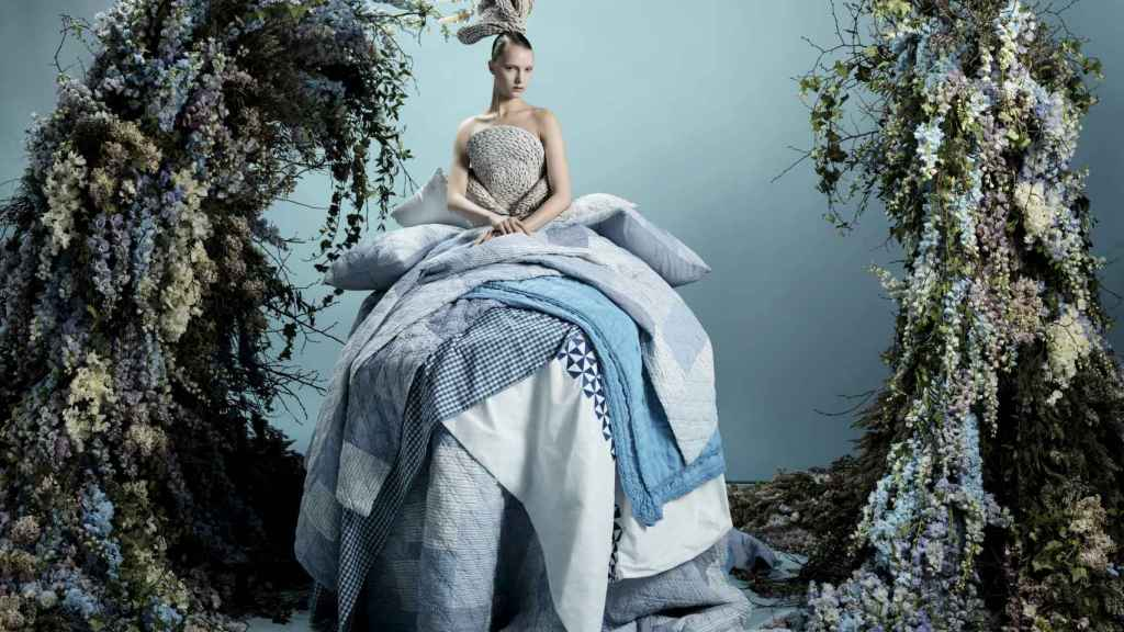 La Grande Illusione de Zara Home y Simon Costin por Tim Walker. | Foto: Inditex.
