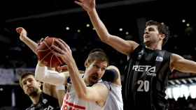 Andrés Nocioni en el reciente Real Madrid-Bilbao Basket.