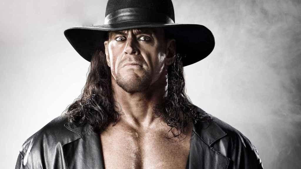 El Enterrador, en una imagen de la WWE.
