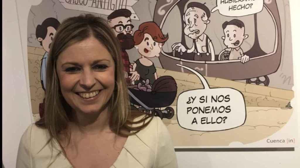 La consejera de Fomento de Castilla La Mancha, Elena de la Cruz.