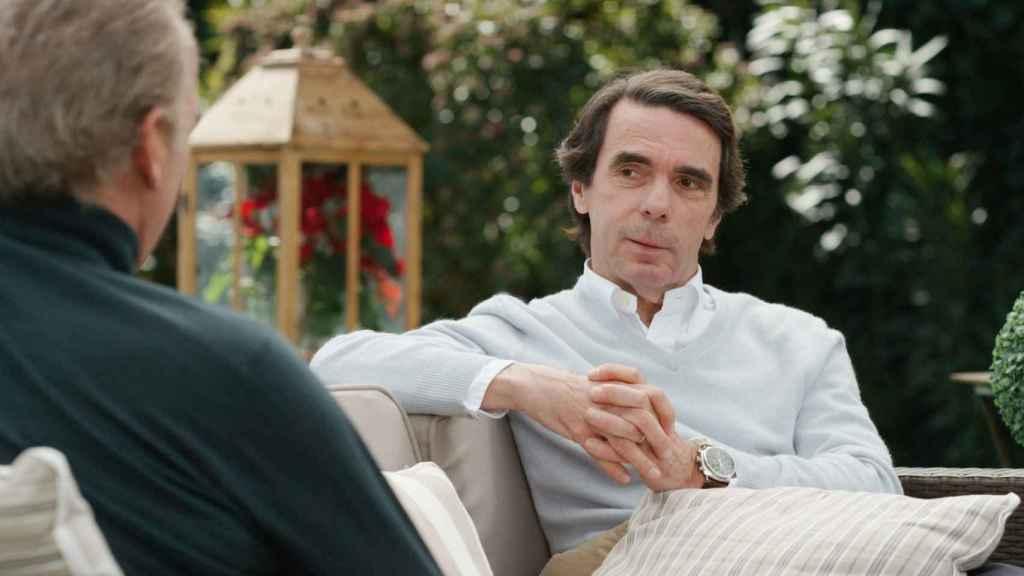Las preguntas de las que no podrá escapar Aznar de Bertín Osborne