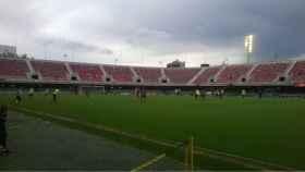 Barça B - Eldense. Foto: Twitter (@CD_Eldense)