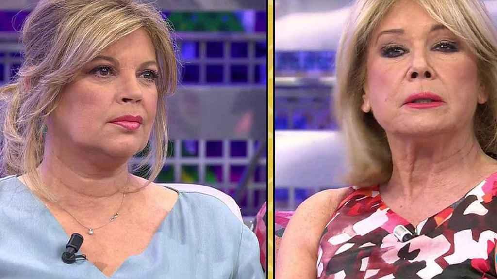 Terelu Campos y Mila Ximénez.