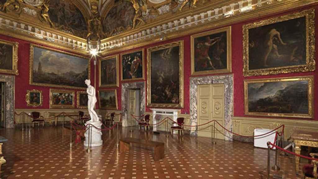 Galería Palatina del Palazzo Pitti. |Foto: cortesía Uffizi.
