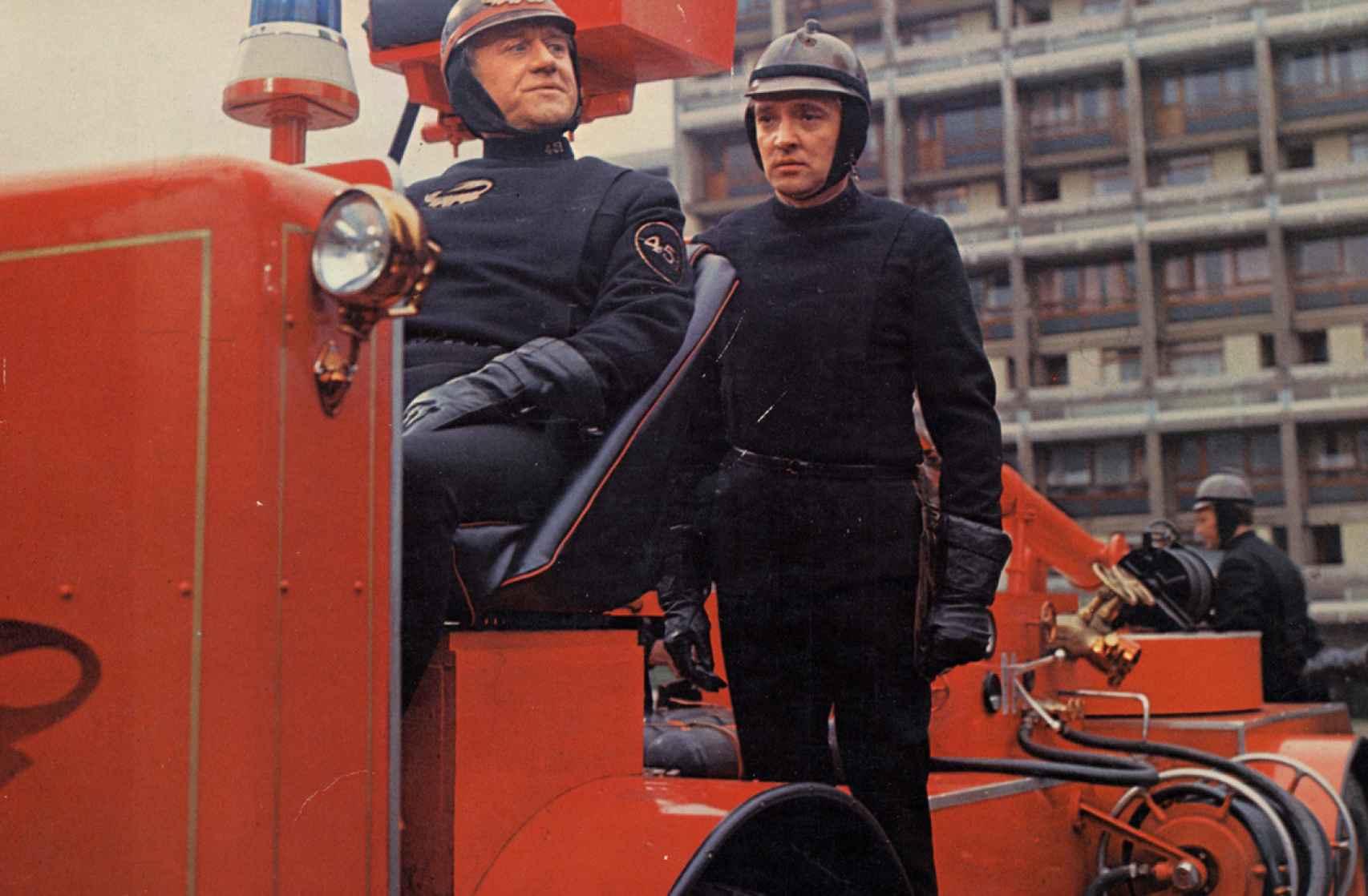 Escena de la película Farenheit 451, de 1966, de François Truffaut.