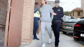 Maiqui Fernández cuando entraba en los juzgados.