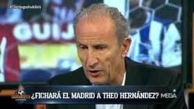 Petón aconseja a Theo que no fiche por el Madrid   Foto: Twitter (@elchiringuitotv)