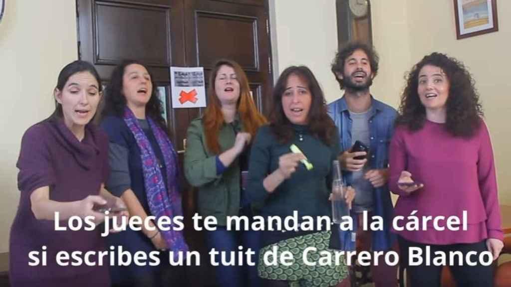 Concejales de Sevilla, contra la condena a Cassandra a ritmo de chirigota