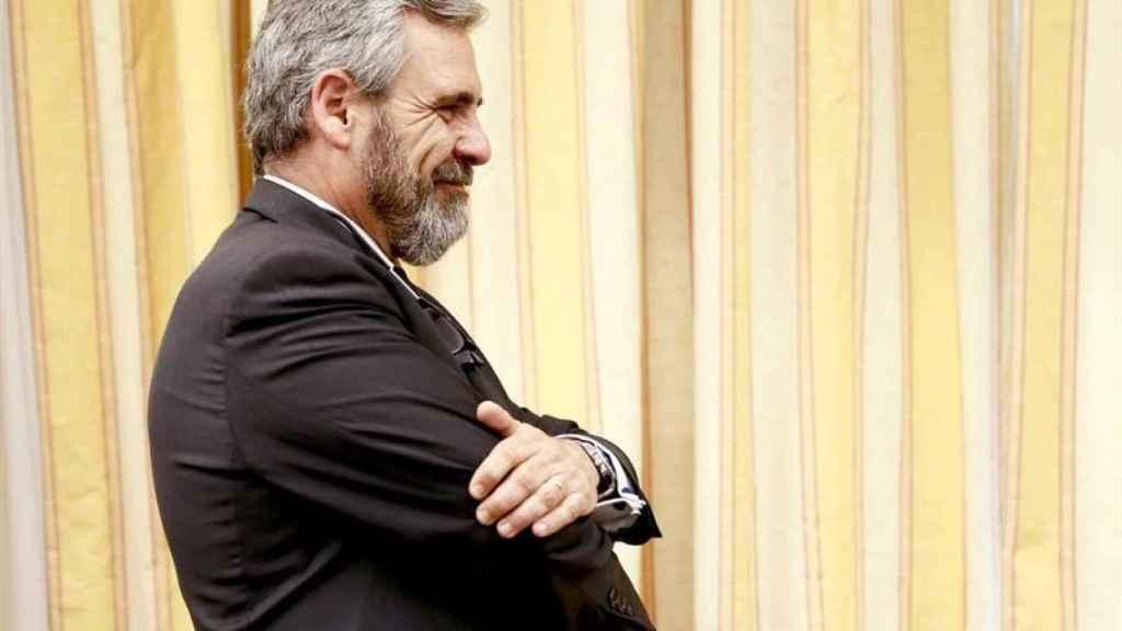 Daniel de Alfonso, ex jefe antifraude de Cataluña, en el Congreso.