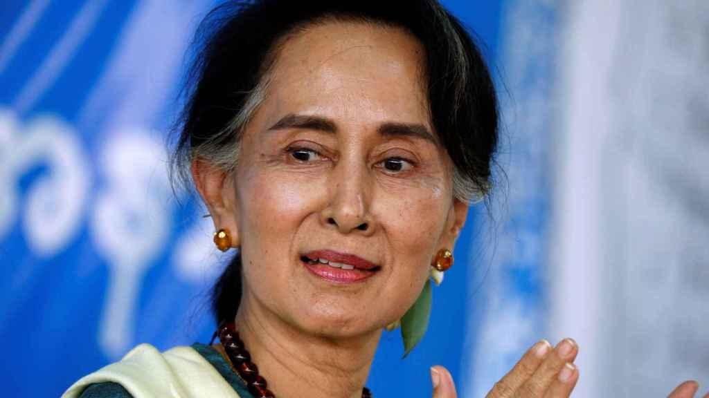 La política birmana y premio Nobel de la Paz, Aung San Suu Kyi
