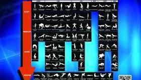 La tabla periódica de los ejercicios con la que no hace falta que acudas al gimnasio