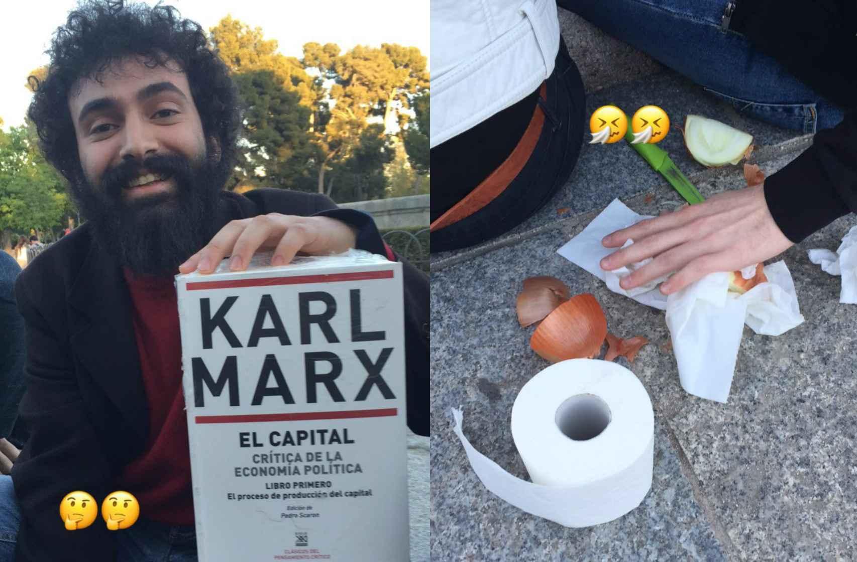 Karl Marx, las cebollas y el papel higiénico también estuvieron presentes