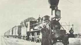 El Transiberiano en 1897.