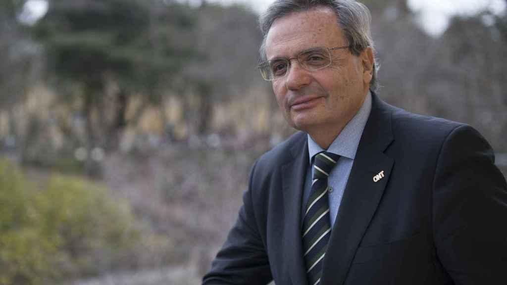 Rafael Matesanz, en la sede la ONT