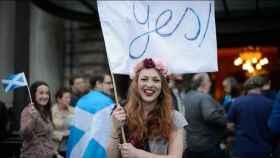Manifestación en Reino Unido.