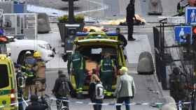 Imagen del centro de Estocolmo tras el ataque