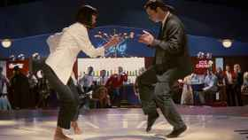Uma Thurman y John Travolta moviendo el esqueleto en una escena de 'Pulp fiction'.