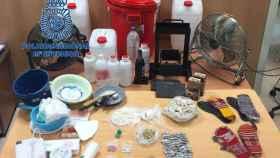 La Policía detiene a 17 personas de una red dedicada al tráfico de drogas e interviene 170 kilos de cocaína