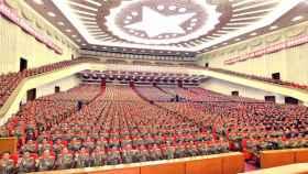 El régimen norcoreano celebró su reunión anual central en Pyongyang.