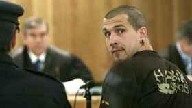 Arkaitz Goikoetxea durante un juicio en la Audiencia Nacional.