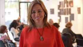 Última intervención pública de Carme Chacón en el Centro Cultural Español de Miami. Lioman Lima.