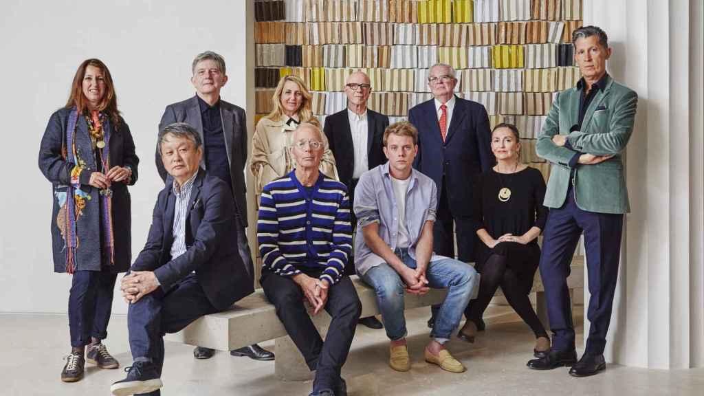 Los miembros del jurado de la primera edición LOEWE Craft Prize. | Foto: Loewe.