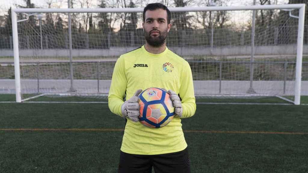 Andrés Martínez forma parte de la sección de fútbol desde septiembre del pasado año