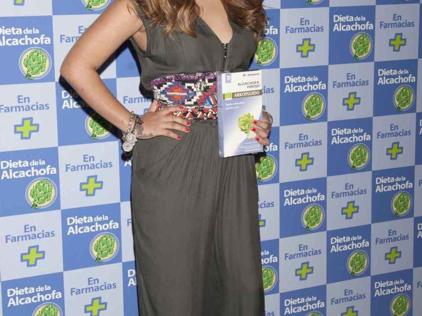 Chabelita, imagen de la dieta de la alcachofa.